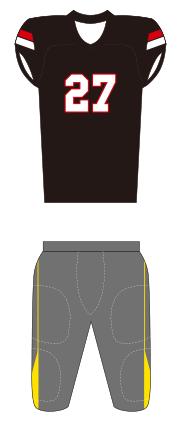 ユニフォーム3 ブラック